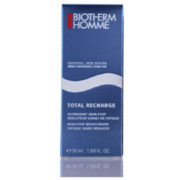 BIOTHERM HOMME Total Recharge Non-Stop Hydratant Moisturizer Fatigue Signs Reducer 50ML