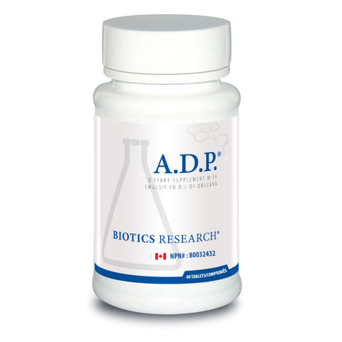 Biotics Research A.D.P. 60T Dietary Supplement - Oregano Oil