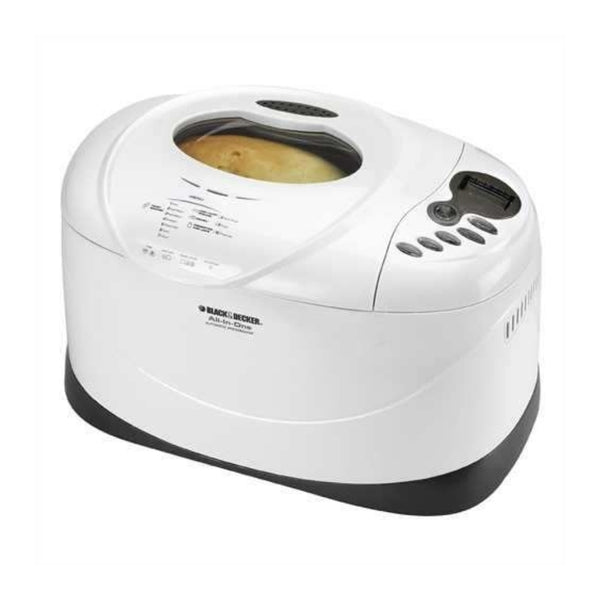 "Black & Decker B2300 3LB Deluxe Breadmaker, White  ""Brown Box Packaging-Refurbished with 90 Days Warranty"""