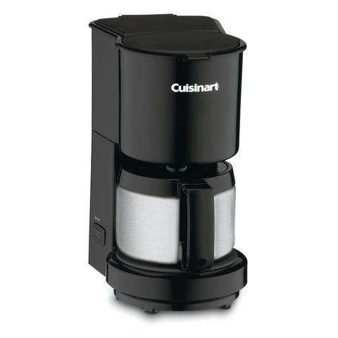 Cuisinart DCC-450IHR 4-Cup Coffeemaker with Stainless-Steel Carafe (Refurbished)