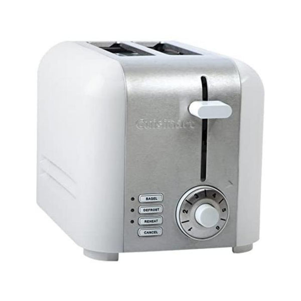 CUISINART CPT-320WC 2-Slice Compact Stainless Toaster - White