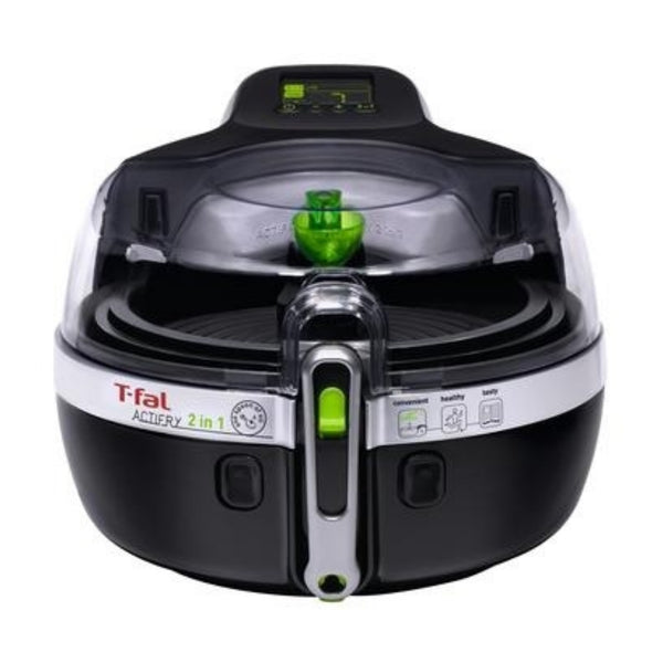 "YV960151 TFAL FRY ACTIFRY 2 IN 1 BLK ""Blemished Packaging- Manufacturer Refurbished, Good as NEW (Comes with One Year Manufacturer Warranty, Direct to the Customer)"""