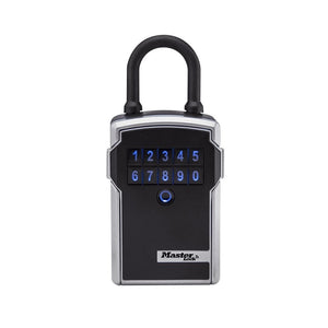 Master Lock 5440D Bluetooth Portable Key Safe Lock Box with Personal-Use Software 3-1/4 in. Wide