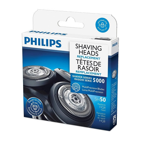 Philips Replacement shaver blades for shaver series 5000, SH50/53, 1 Count