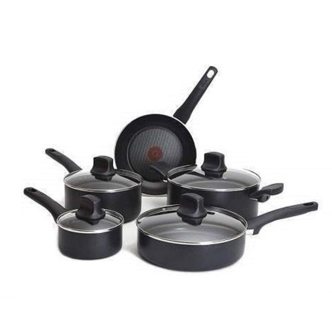 T-Fal Intuition 9 piece Cookware Set, open box / blemished packaging