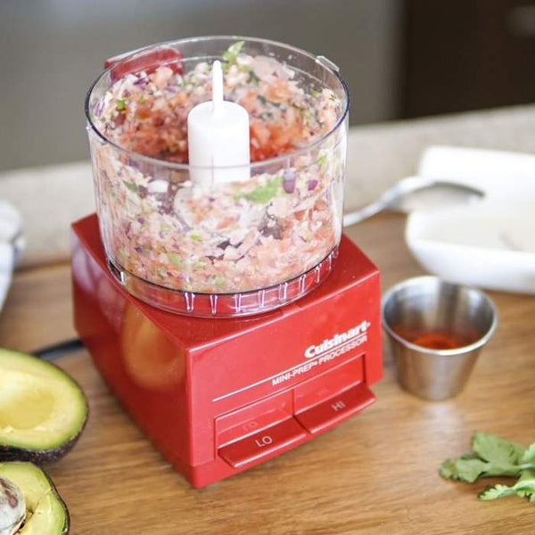Cuisinart DLC-1RC Mini Prep Processor - Red