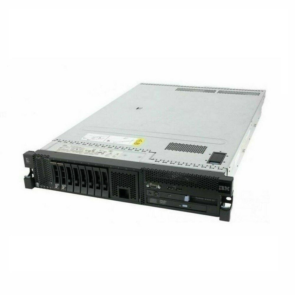 IBM x3650 M3 Server 2X Six Core 2.93GHz X5670 72GB 4X146GB 2X PSU RAILS