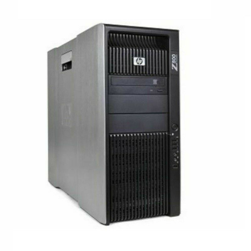 12 Core HP Z800 Workstation 2x X5670 2.93Ghz 1Tb HDD 48 Gb RAM