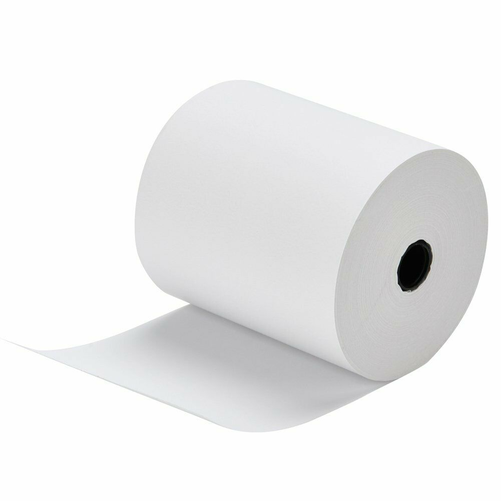 "NCR 856348 Thermal Receipt Paper, 3-1/8x3"", 230' White - Roll, Thermal 50 Pack"