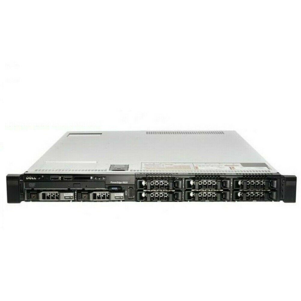 Dell Poweredge R620 Dual Xeon E5-2609 2.40Ghz 128GB RAM 2X 300GB SAS 2X PSU