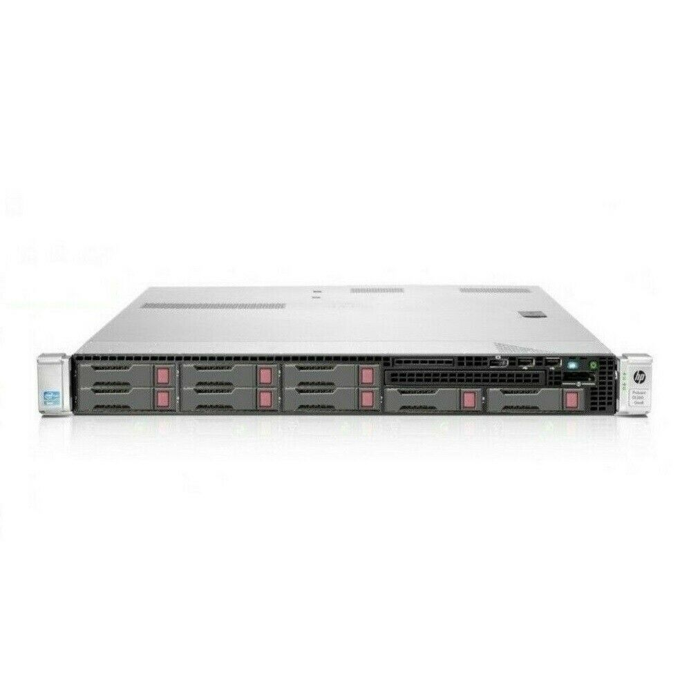40 Logical Cores HP DL360p G8 2 x E5-2650L v2 10-Core 96GB RAM 2 x 300GB