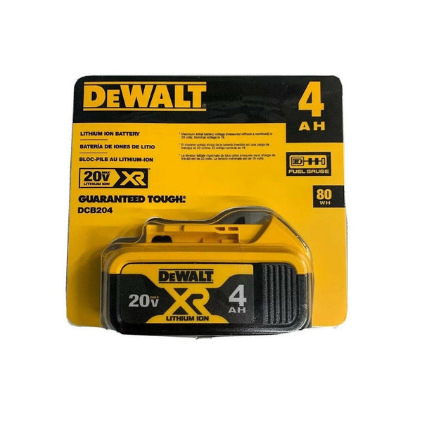 Dewalt DCB204 20V MAX Premium XR 4 Ah Lithium-Ion Battery