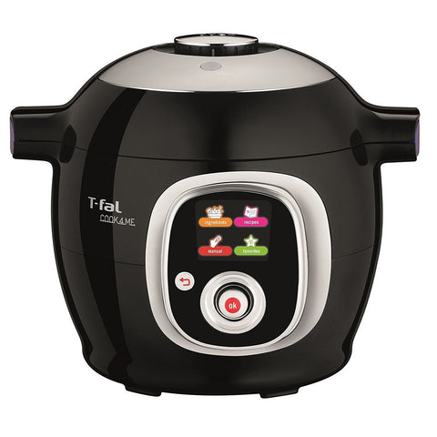 T-fal CY7018CA Cook4me 6L All-In-One Multicooker, Black - With Manuf Warranty