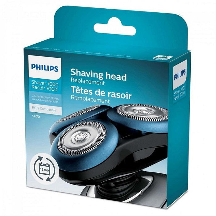 Philips Men's Replacement Shaver Blades for Shaver Series 7000, SH70/73