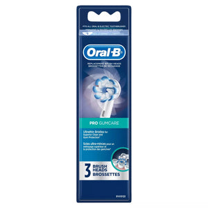 Genuine Oral-B Pro Gum Care Electric Toothbrush Replacement Round Brush Head Refills, 3 Count, 2Pack