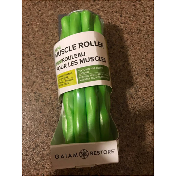 Gaiam Restore Mini Muscle Massage Roller Smaller Compact Size;  Pack of 2