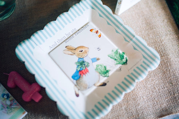 Peter Rabbit Birthday Theme