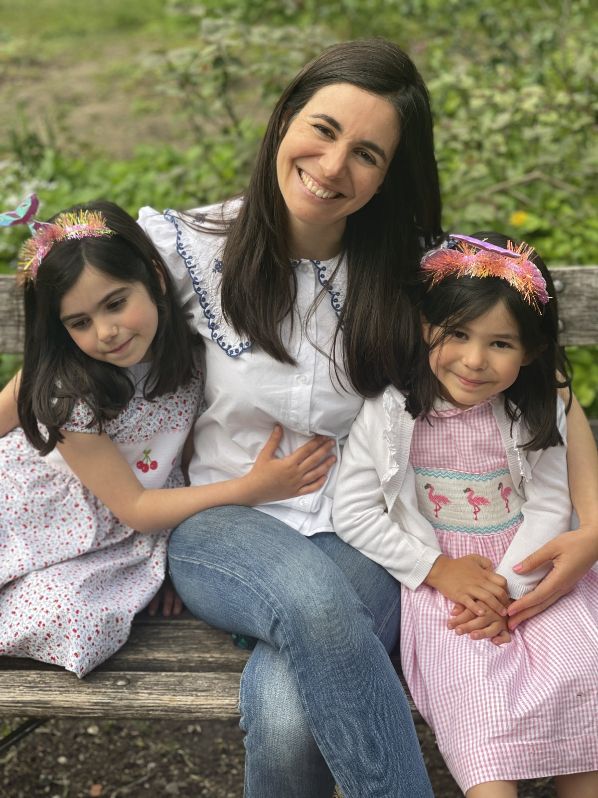 maria and daughters leonor and ines