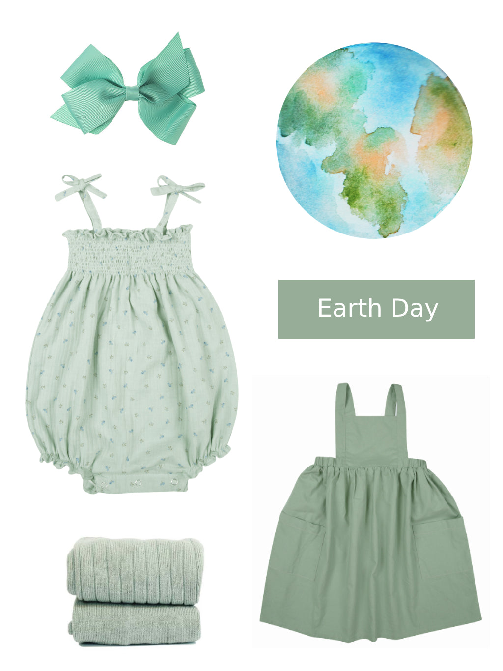 green outfits to celebrate earth day