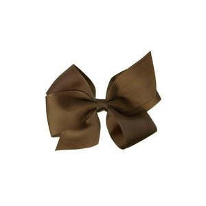 Big Bow Clip BROWN