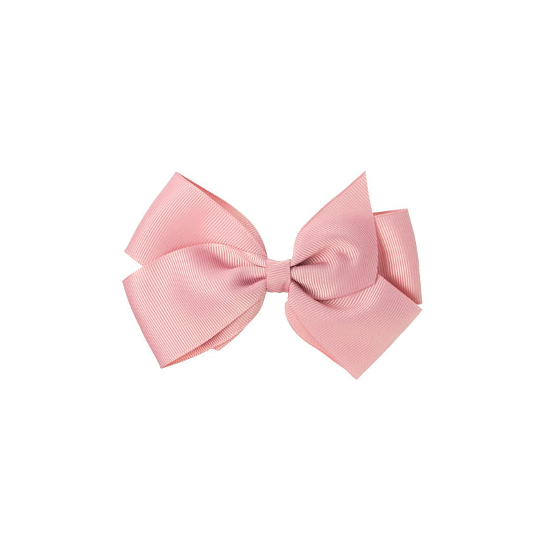 Big Bow Clip DUSTY PINK