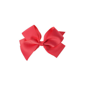 Big Bow Clip RED