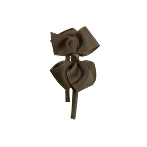 Big Bow Hairband BROWN