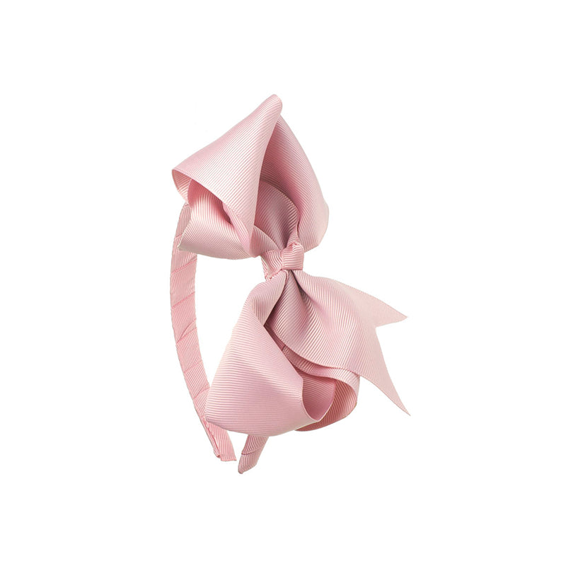 Extra Large Bow Hairband DUSTY PINK