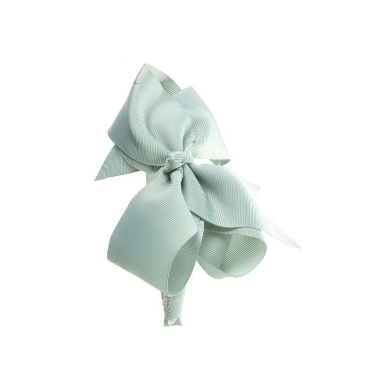 Extra Large Bow Hairband LIGHT GREY