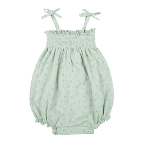 Clementine Baby Girl Romper