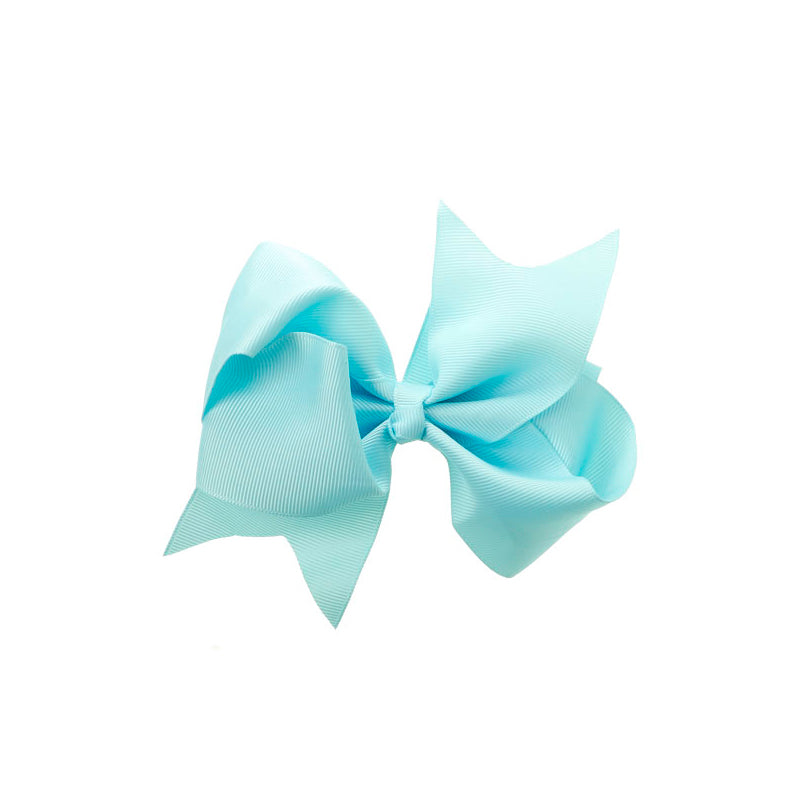 Extra Large Bow Clip Baby Blue