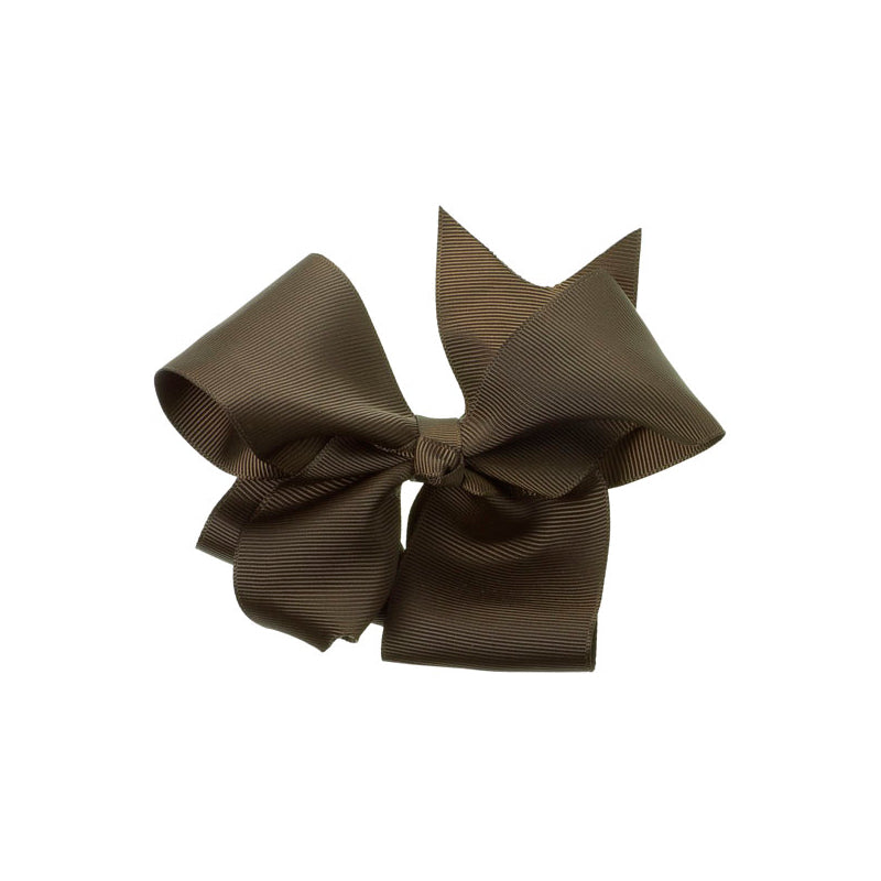 Extra Large Bow Clip BROWN