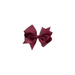 Extra Large Bow Clip BURGUNDY