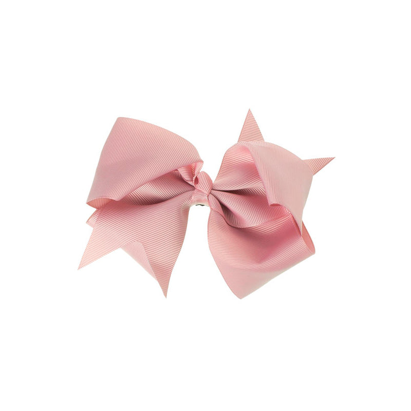 Extra Large Bow Clip DUSTY PINK