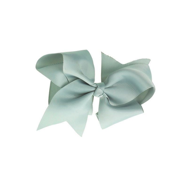 Extra Large Bow Clip LIGHT GREY