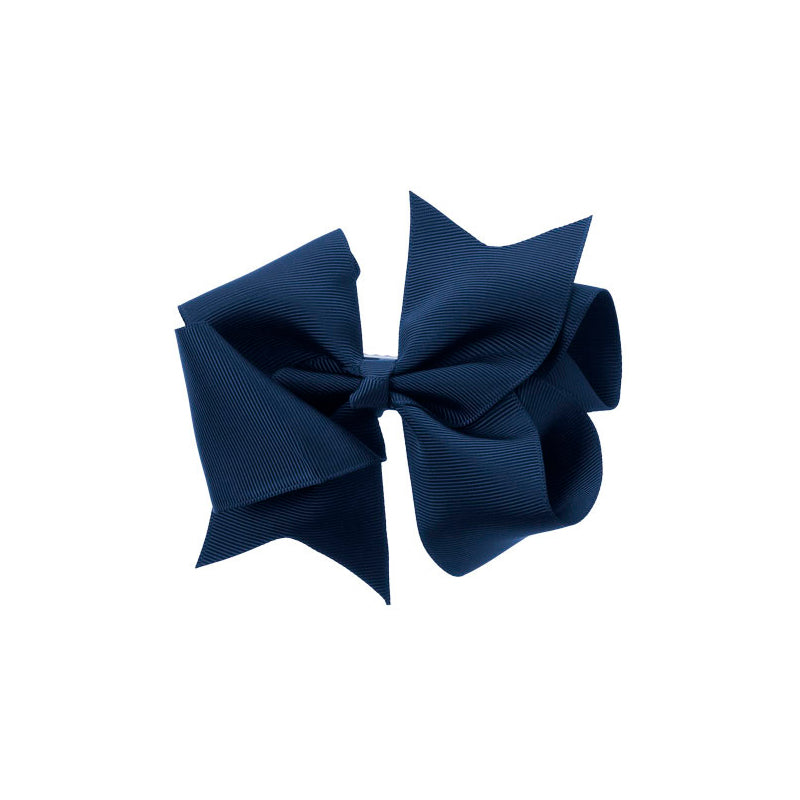 Extra Large Bow Clip NAVY BLUE