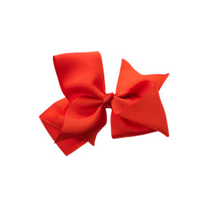 Extra Large Bow Clip RED