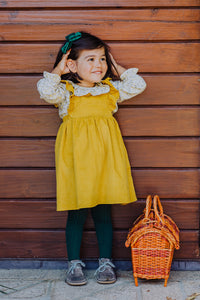 Luisa Girl Pinafore Dress