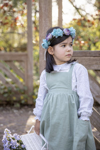 Margot Girl Pinafore Dress