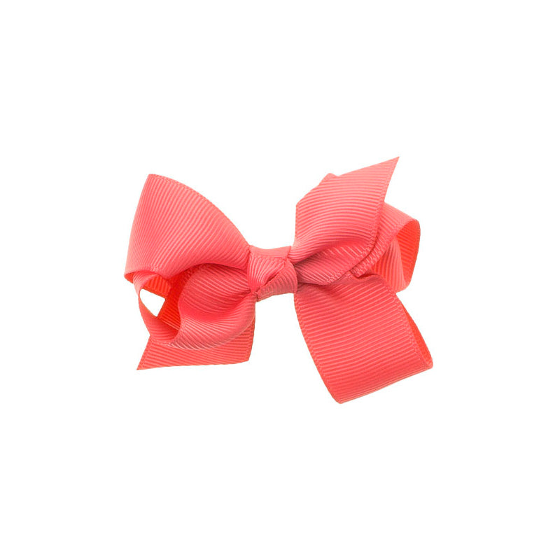 Medium Bow Clip Coral