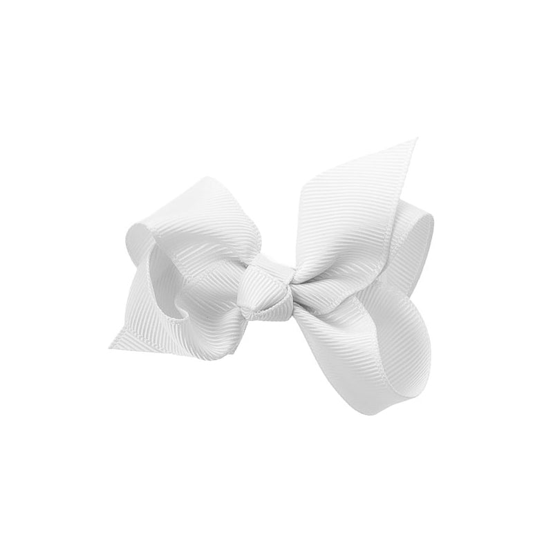 Medium Bow Clip WHITE