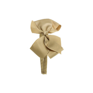 Big Bow Hairband BEIGE