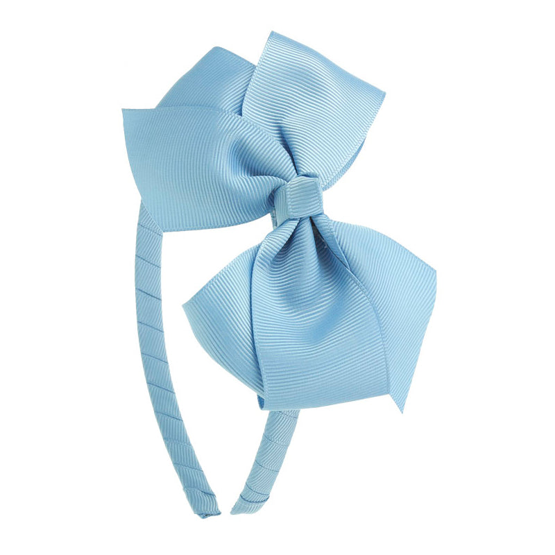 Big Bow Hairband FRENCH BLUE