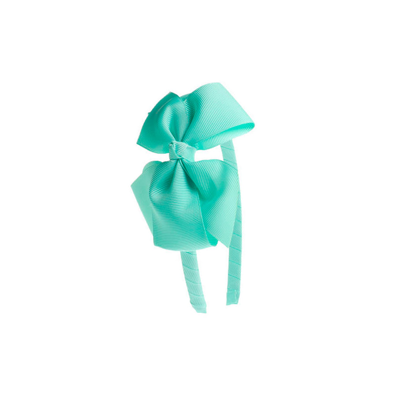 Big Bow Hairband Mint