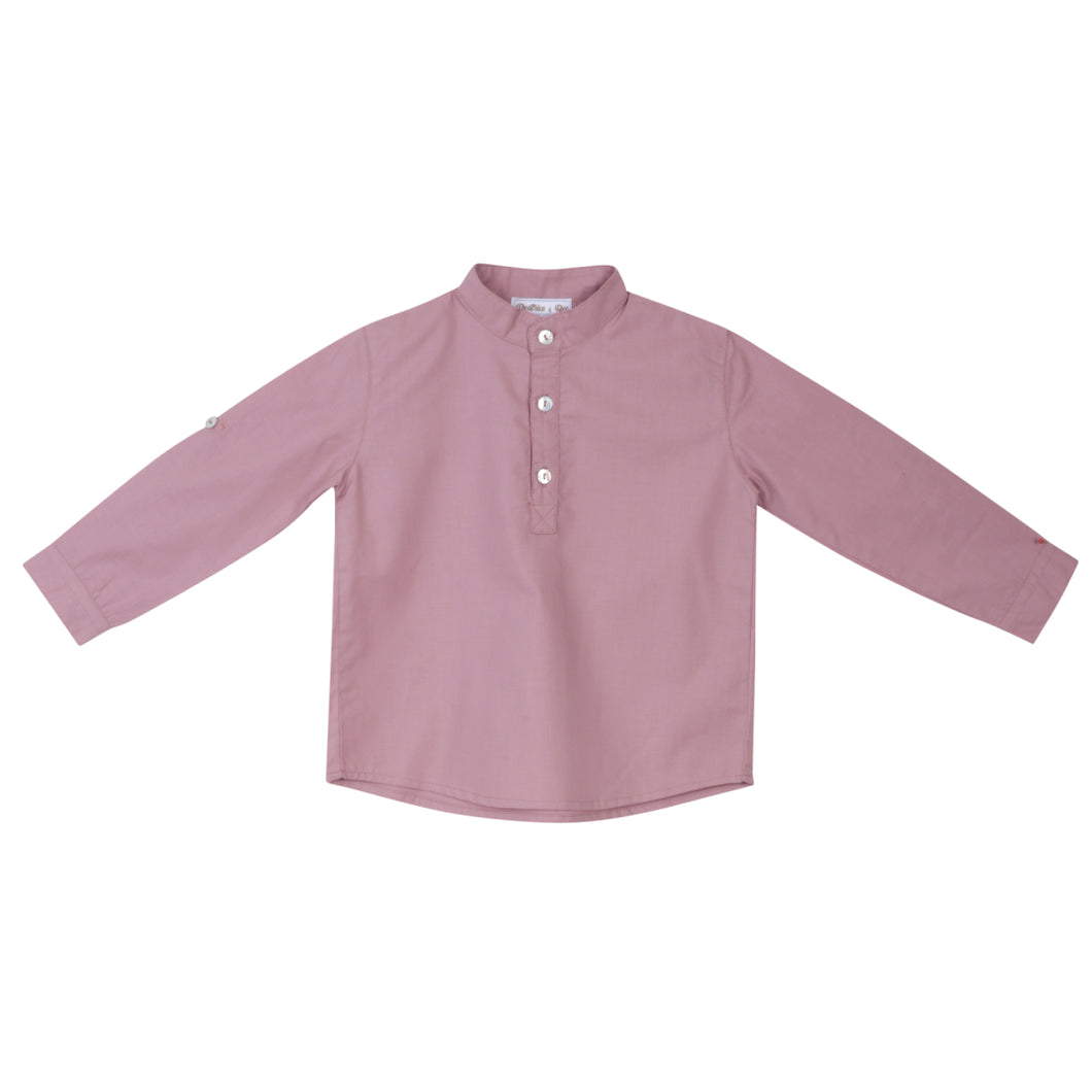 Rufus Dusty Pink Boy Shirt