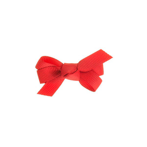 Small Bow Clip Red
