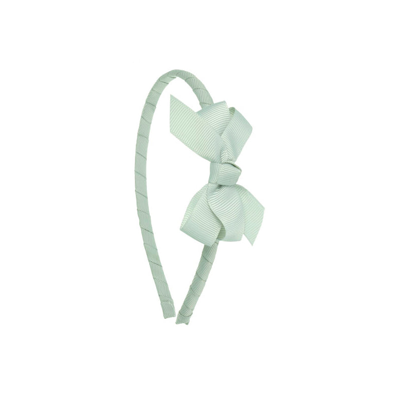 Small Bow Hairband LIGHT GREY