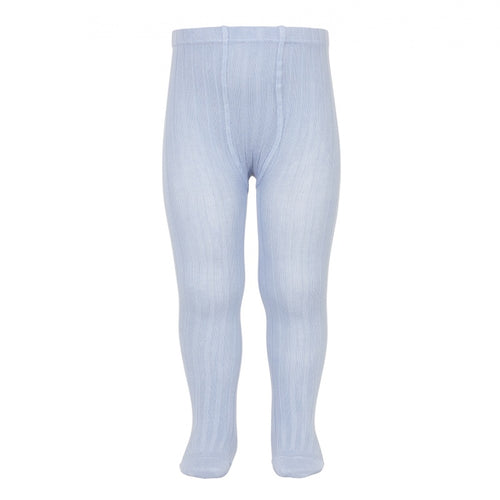 Ribbed Tights BABY BLUE