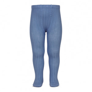 Ribbed Tights FRENCH BLUE