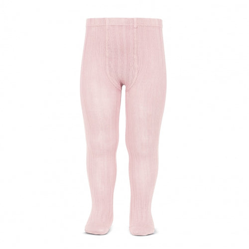 Ribbed Tights BABY PINK